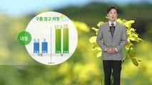 [날씨] 내일 오늘보다 더 따뜻...대체로 구름 많음 / YTN