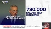 """Bruno Le Maire annonce un système de chômage partiel inédit """"depuis le lendemain de la Seconde Guerre mondiale"""""""
