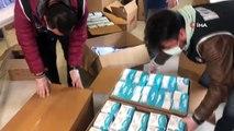Tekstilin kalbi Bursa'da sağlık açısından yetersiz 100 bin tıbbî maske ele geçirildi