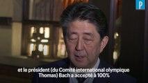 Le Premier ministre japonais annonce le report des JO de Tokyo