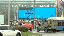 El macro hospital de campaña de IFEMA sigue recibiendo pacientes de Covid-19 de los hospitales de Madrid
