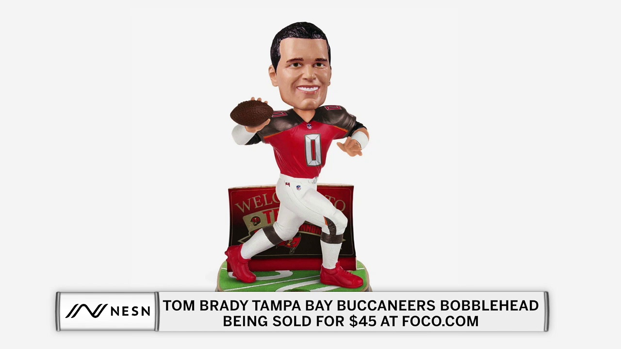 Tom Brady Buccaneers Bobbleheads Already Being Sold