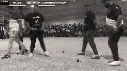 Finale PRUD'HOMME vs MALLET Supranational à pétanque d'Orange 2019