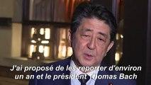 Le Japon et le CIO d'accord pour reporter d'un an les JO de Tokyo (Abe)