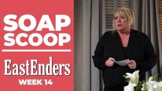 EastEnders Soap Scoop! Drama on Dennis's funeral day