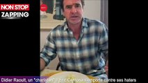 "Didier Raoult, un ""charlatan"" ? Eric Cantona s'emporte contre ses haters (Vidéo)"