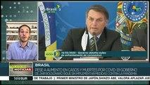 Brasil: Bolsonaro sigue sin implementar medidas contra el COVID-19