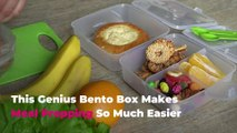 This Genius Bento Box Makes Meal Prepping So Much Easier