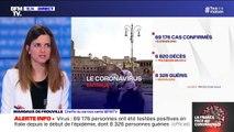 Coronavirus: le bilan quotidien repart à la hausse en Italie avec 743 morts en 24h