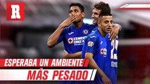 Luis Romo: 'Me esperaba un ambiente más pesado en Cruz Azul'