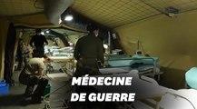Voilà à quoi ressemble l'hôpital de campagne de Mulhouse