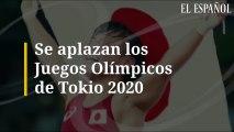 Se aplazan los Juegos Olímpicos de Tokio 2020