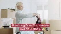 Clothes And Coronavirus