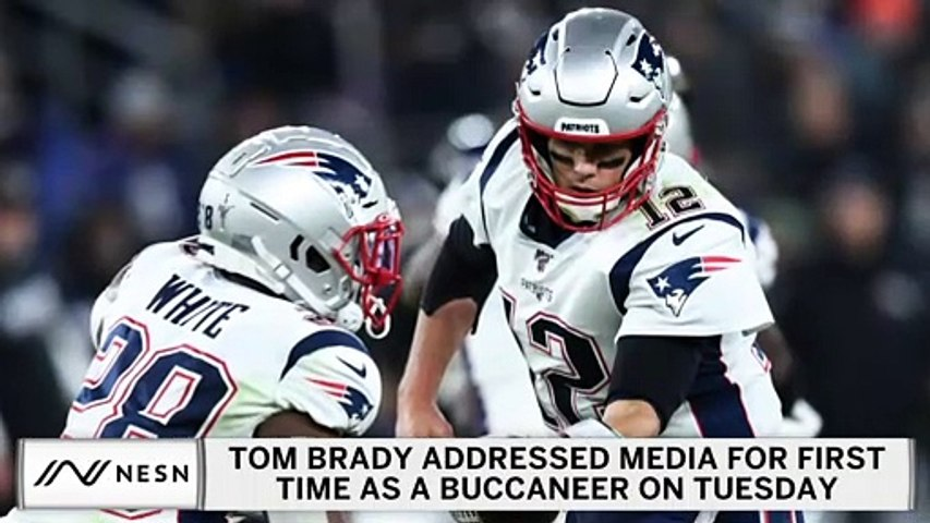 Highlights From Tom Brady's Buccaneers Introductory Conference Call