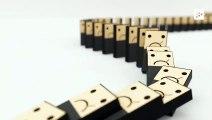 El por qué de los confinamientos y cuarentenas, explicado con piezas de dominó