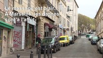 Coronavirus: un drone survole Marseille pour faire respecter le confinement