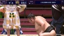 Playoff - Ura (Sd30w) vs Nankairiki(Sd64e) - Haru 2020, Sandanme Yusho  - Day 15