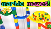 Giant Marble Mazes Teach Colors and Counting-