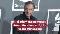 Neil Diamond Remakes 'Sweet Caroline'