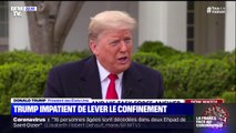 Coronavirus: Donald Trump impatient de lever le confinement