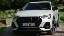 The new Audi Q3 Sportback Design in Dew Silver