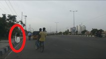 Real Ghost caught on cam at Hitech City, Hyderabad - Real Ghost Videos in india - Real Scary Videos