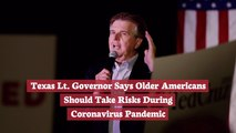 Texas Lt. Governor Has Opinions