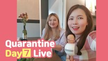 Quarantine Live Day 7! Masak Nasi Lemak Korea and Cakap Bahasa Melayu SAJA!!