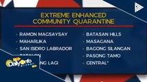 Bilang ng mga brgy sa QC na nakasailalim sa enhanced community quarantine, nadagdagan