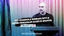 Pep Guardiola Sumbang Rp17 Miliar untuk Pengadaan Alat Kesehatan di Spanyol
