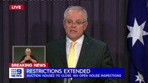 2020 MAR 24 COVID-19 LOCKDOWN; Scott Morrison Reveals Long List of Restricted Activities