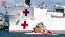Trump, USNS Mercy yüzen hastane gemisini Kaliforniya'ya gönderdi