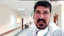 Gördükleri karşısında gözyaşlarını tutamayan doktor: Lütfen evde kalın