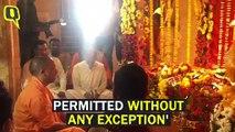 Despite Lockdown, UP CM Yogi Adityanath, 50 Others Hold Prayer Meet in Ayodhya