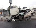 Bakırköy'de trafik kazası: 3 yaralı