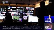 En coulisses, la régie de BFMTV a également dû s'adapter aux mesures de sécurité
