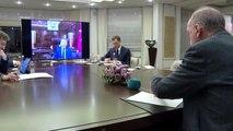 Cumhurbaşkanı Erdoğan, bakanlar ile telekonferans yaptı