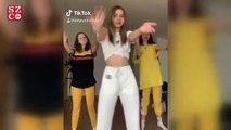 TikTok hesabı açan Aleyna Tilki, kalça dansı yaptı