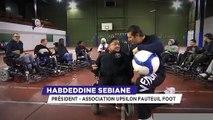 Le Coach Parisi : à la découverte du foot-fauteuil