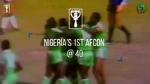 Nigeria's first AFCON win at 40