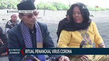 Warga Gelar Ritual Penangkal Virus Corona