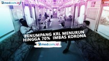 Penumpang KRL Jabodetabek Menurun 70% Imbas Korona