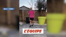 Eugénie Le Sommer enchaîne les défis - Foot - WTF - Coronavirus