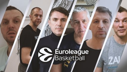 EB ambassadors support #EUROLEAGUENITED against the COVID-19 virus