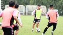 Trực tiếp: CLB Hà Nội tập trong lúc V.League tạm hoãn
