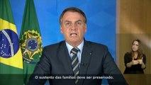 """Selon Jair Bolsonaro, le coronavirus aurait sur lui l'effet d'un """"petit coup de froid"""""""