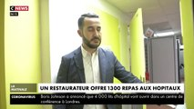 VIRUS - Un restaurateur parisien décide d'offrir 1.300 repas aux hôpitaux à destination du personnel soignant - VIDEO