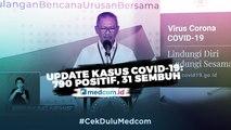 Update Kasus Covid-19: 790 Positif, 31 Sembuh dan 58 Meninggal