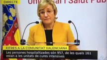 """La burla de Ana Barceló a los médicos: la socialista les acusa de pillar el coronavirus """"por viajar y ver familiares"""""""