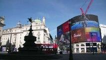 Así están las calles de Londres por el coronavirus